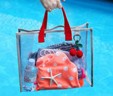 Fashion PVC Handbags Clothing Package , Beach Travelling PVC Swim Bag