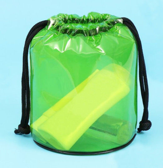 Recyclable PVC Gift Bags , Large Storage PVC Pouch Bag Eco Friendly